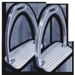 STEELtec Stirrup Irons