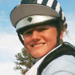 Sara Gumbiner rides in Stübben Saddles