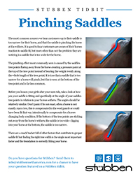 Stübben Tidbit - Pinching Saddles