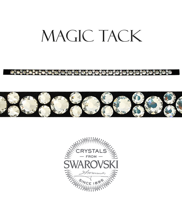 Stübben Browband mixed crystal inlay