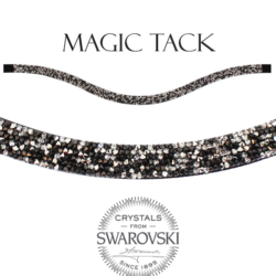 Stübben Browband black rocks inlay