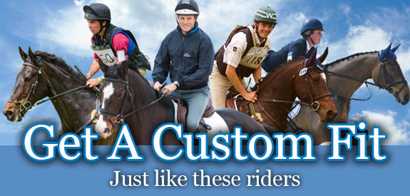 Get a custom saddle fit from Stübben