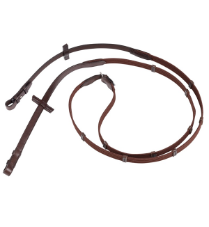 Ebony All Sizes Stubben Slimline Rubber Saddlery Reins
