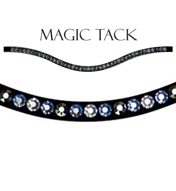 Annica Hansen curved inlay for MagicTack browband by Stübben