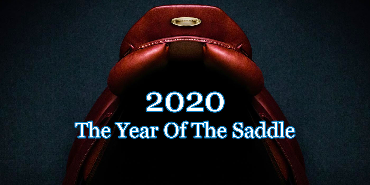 2020. The Year Of The Stübben Saddle.
